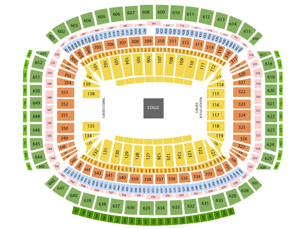 Houston Rodeo Tickets Houston Rodeo Lineup 2020 Nrg